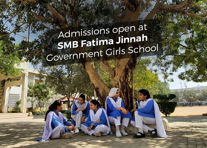 Admissions Open at SMB Fatima Jinnah GGS